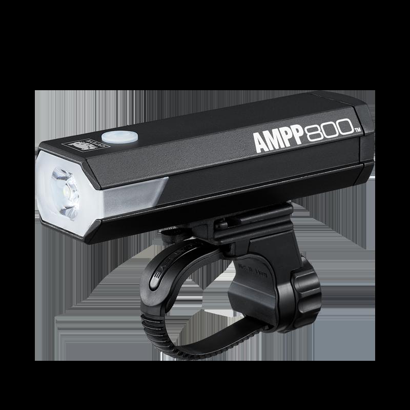 Cateye AMPP800 HL-EL088RC USB Forlygte - 800 lumen
