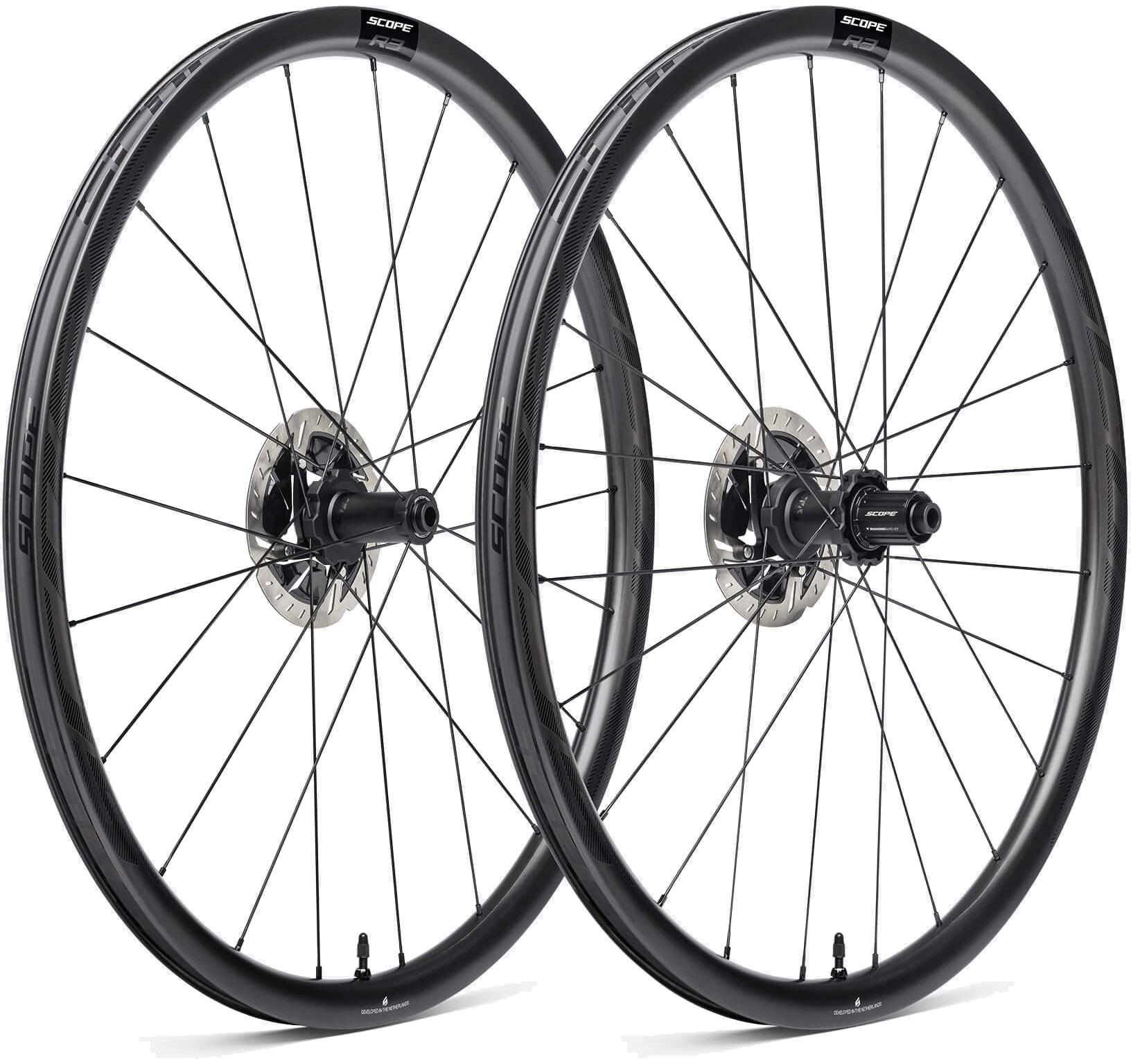 Scope R3 Disc Carbon Hjulsæt