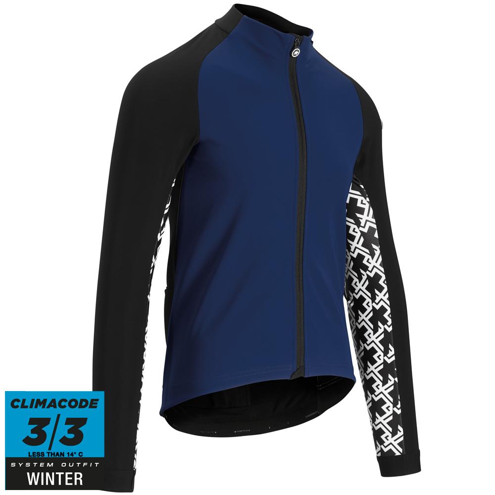 Assos Jakke Mille GT Jacket Winter - Blå