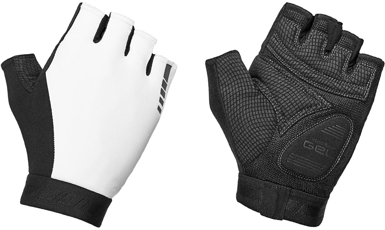 Køb GripGrab World Cup Padded Short Finger Cykelhandske 2 – Hvid