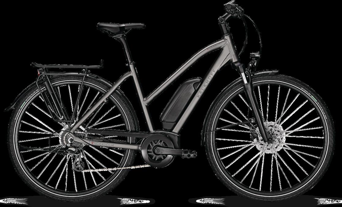 Kalkhoff ENDEAVOUR 1.B MOVE Dame 2021 - Grå  »  Bike Size: L/55cm