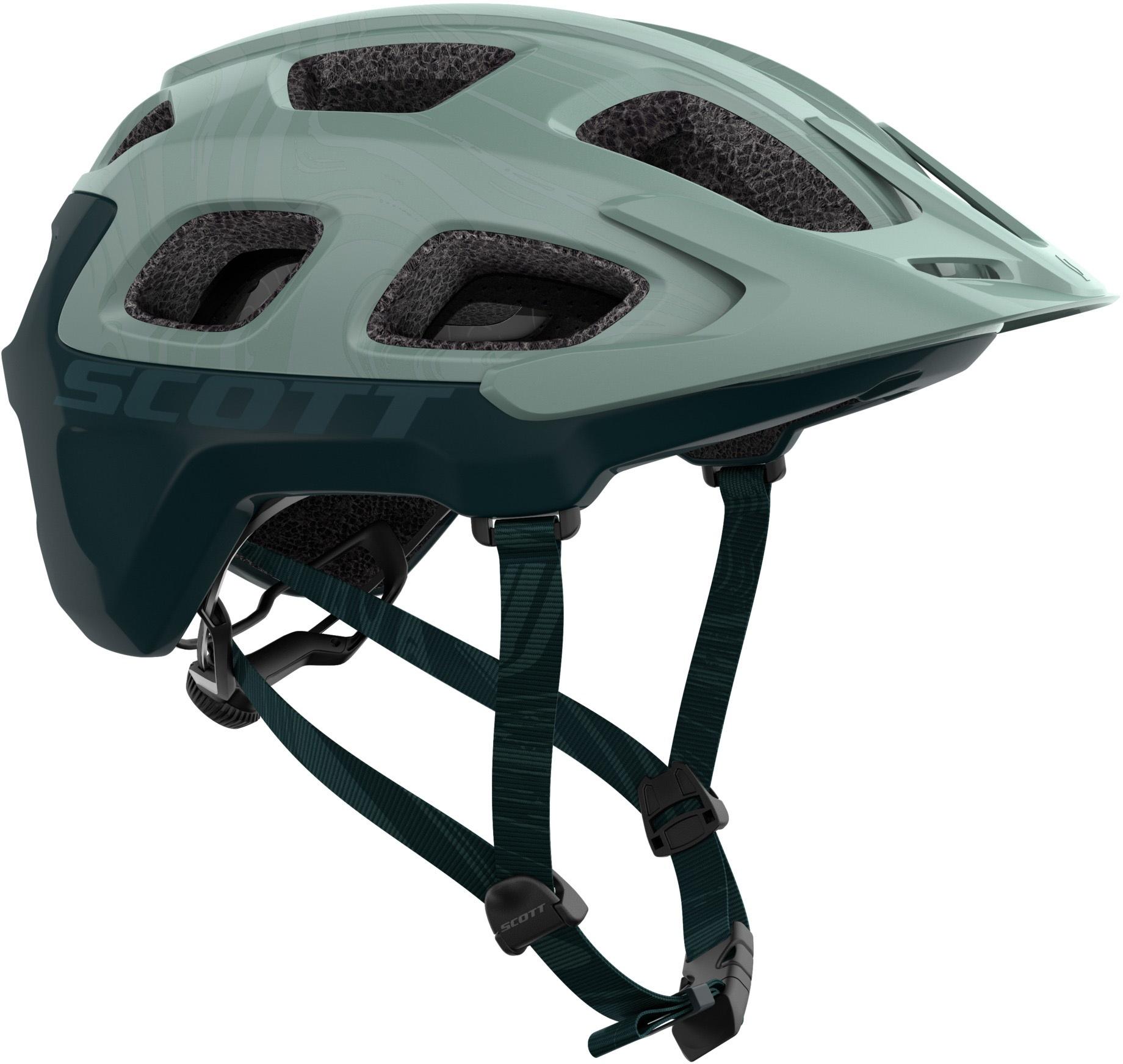 Køb Scott Vivo Plus (MIPS) Hjelm – Grøn/Blå