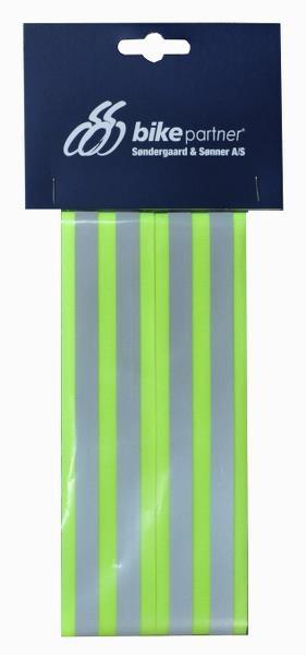 Refleksbånd Med Velcro - Gul
