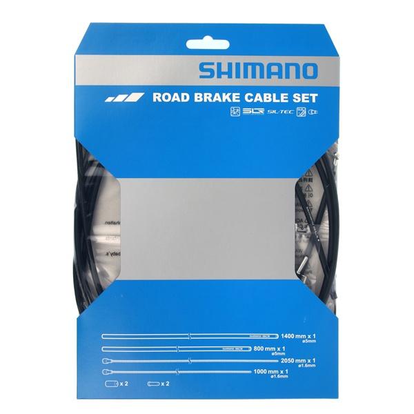 Shimano Bremsekabelsæt Racer Rustfri (PTFE)