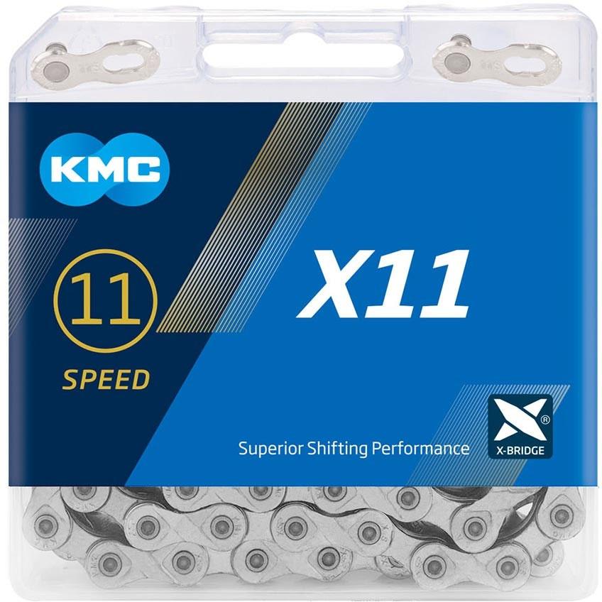 KMC X11 11-Speed 114 Link Cykelkæde