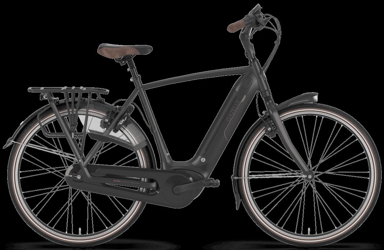 Køb Gazelle Grenoble C8 HMB Herre 2020 – sort