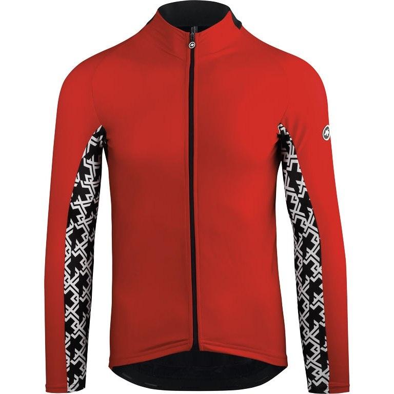 Køb Assos MILLE GT LS Jersey – Langærmet Cykeltrøje – Rød