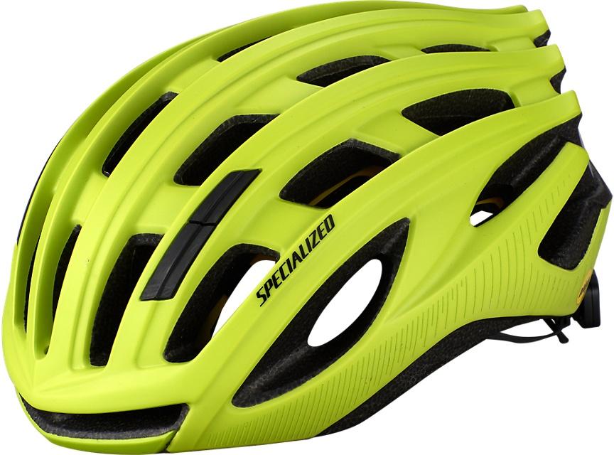 Køb Specialized Propero 3 Mips ANGi READY  cykelhjelm – Gul