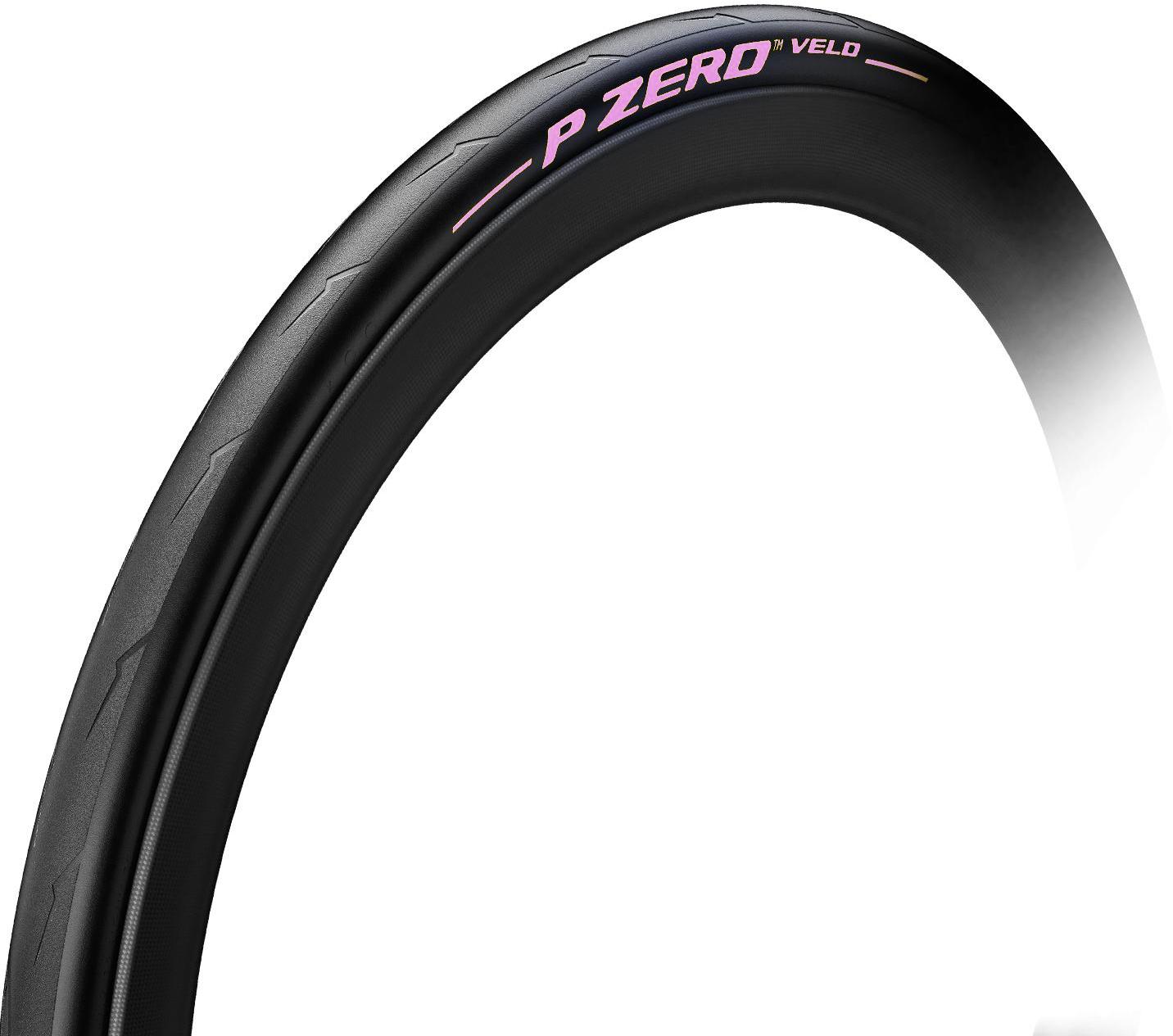 Pirelli P Zero Velo Pure Performance Color Edition 700x25c Foldedæk - Pink