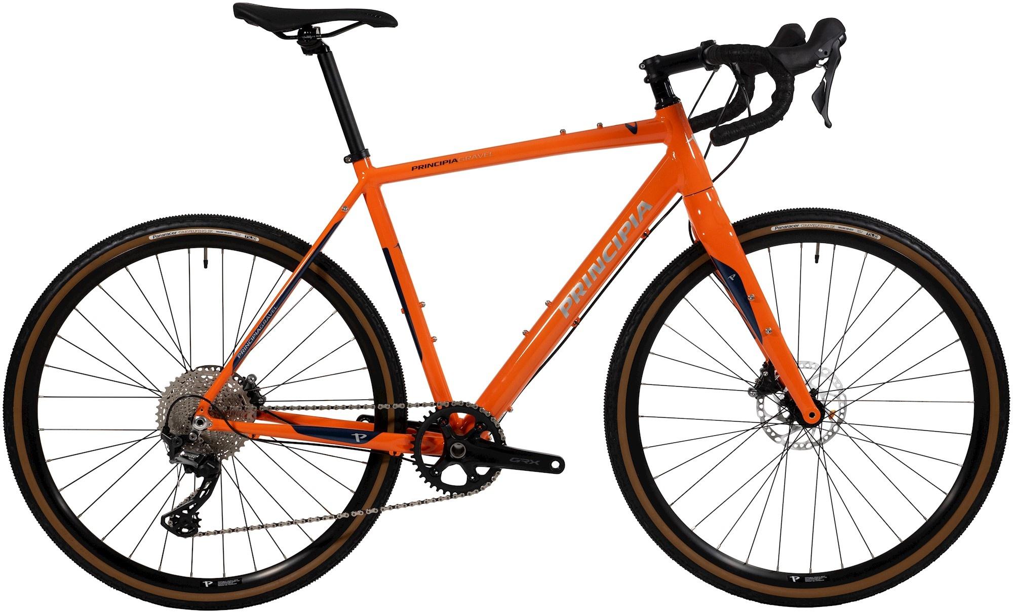 Principia Gravel Alu GRX RX600 2021 - Orange