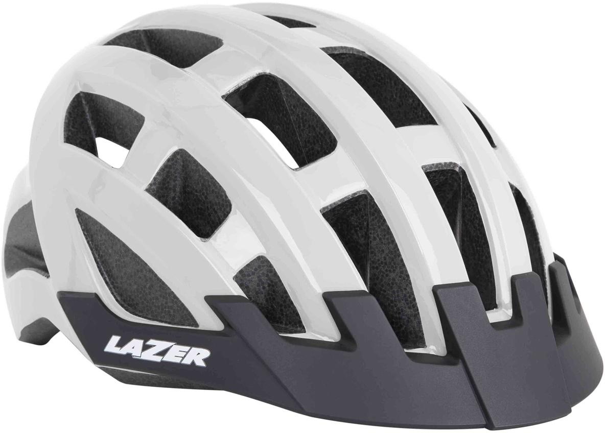 Lazer Compact cykelhjelm - Hvid