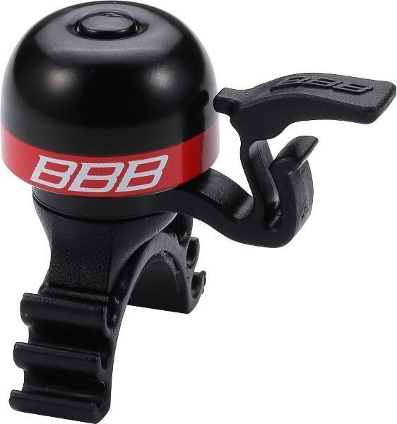BBB Ringeklokke Minifit med nem montering! - rød