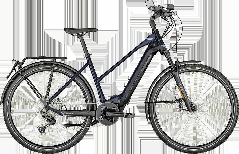 Bergamont E-Horizon Elite Speed 45 km/t Lady 2022 - Blå/Sort