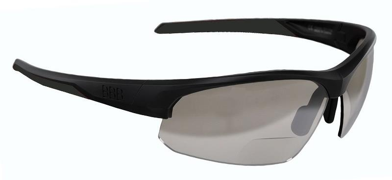 BBB ImpressReader PH fotokromiske cykelbriller m. styrke (+1.5) - Sort