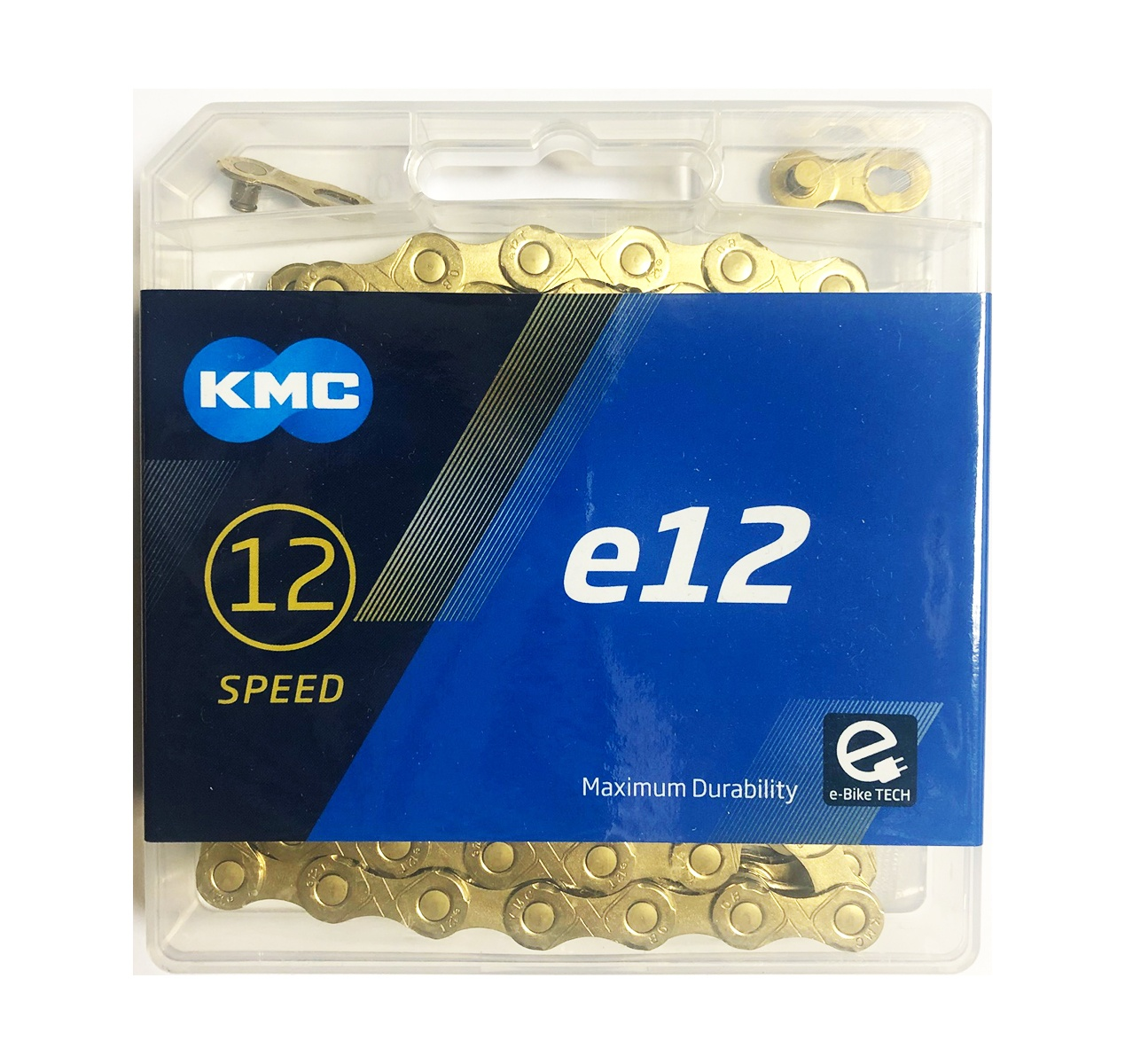 KMC E12 Ti-N eBike 12 speed 130 links Cykelkæde