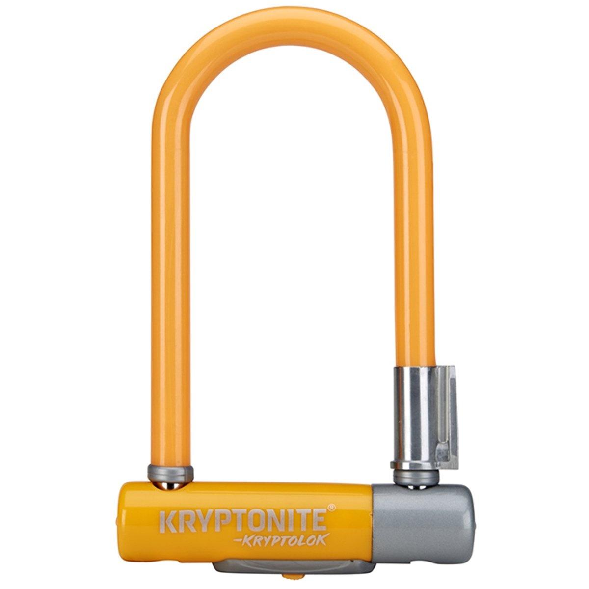 Kryptonite Bøjlelås 2 Mini7, Orange
