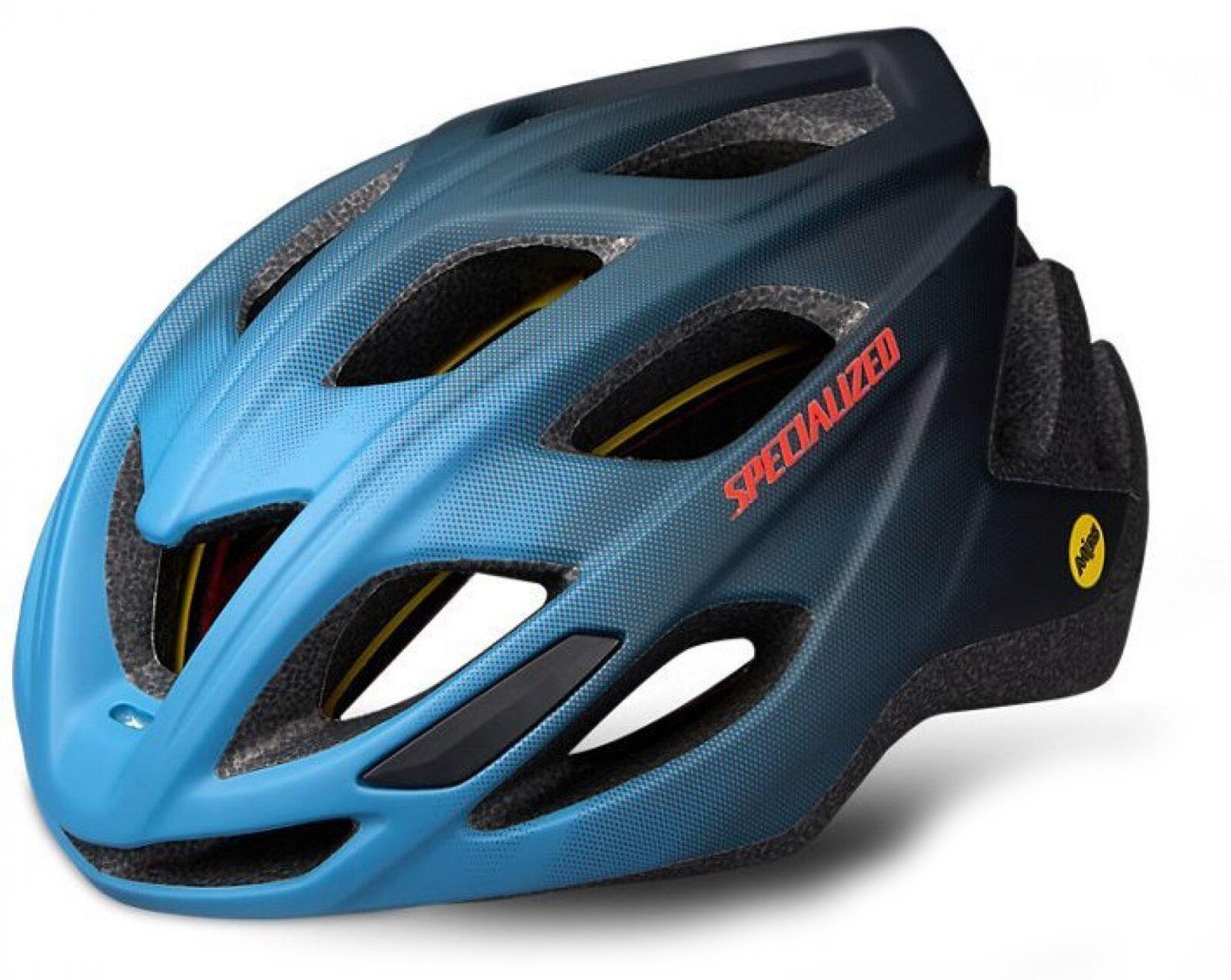 Specialized Chamonix Mips cykelhjelm - Blå  »  Helmet Size: MED/LG (55cm-59cm)