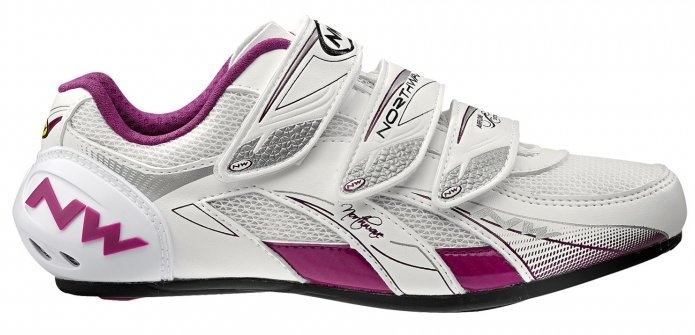 Køb NorthWave Venus Dame Race-sko, white/purple