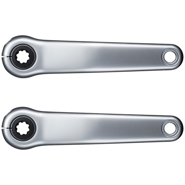 Shimano Pedalarm Set STEPS - Sølv