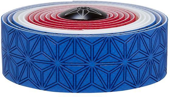 Supacaz Styrbånd Super Sticky KUSH Country - Blå, Hvid, Rød