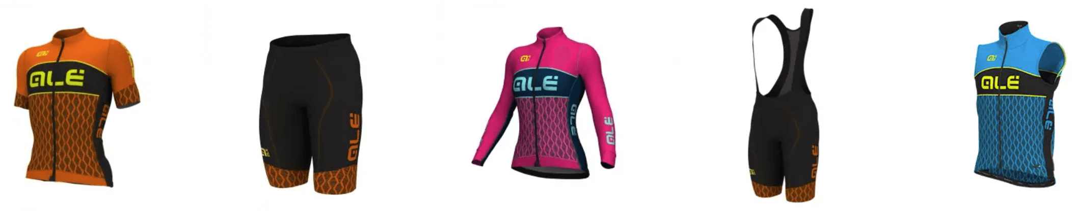 Cykelklub tøj fra ALÈ