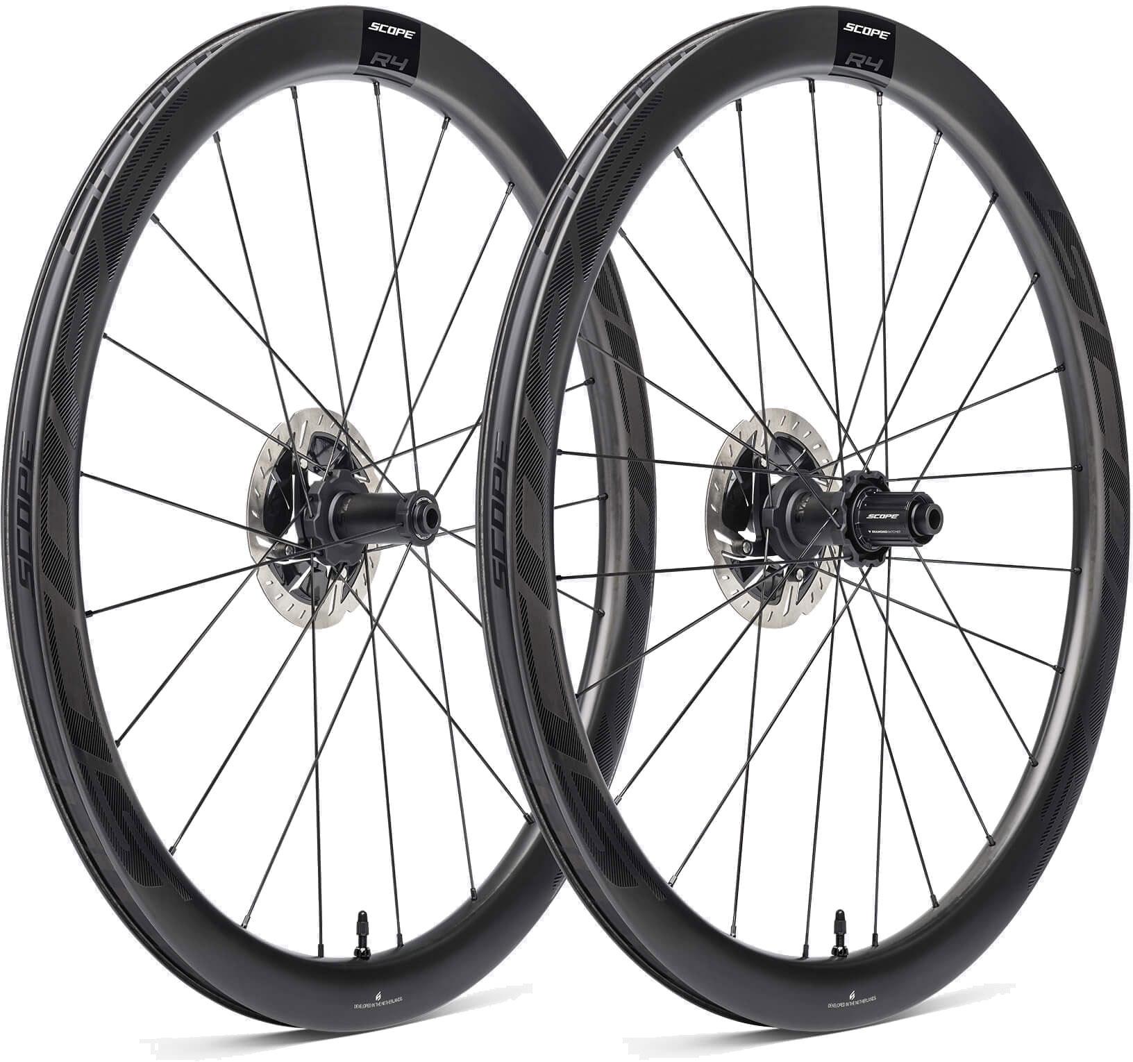 Scope R4 Disc Carbon Hjulsæt