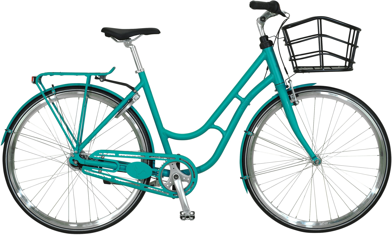 Kildemoes Urban Retro 7g Dame 2020 - Grøn  »  Bike Size: 55cm