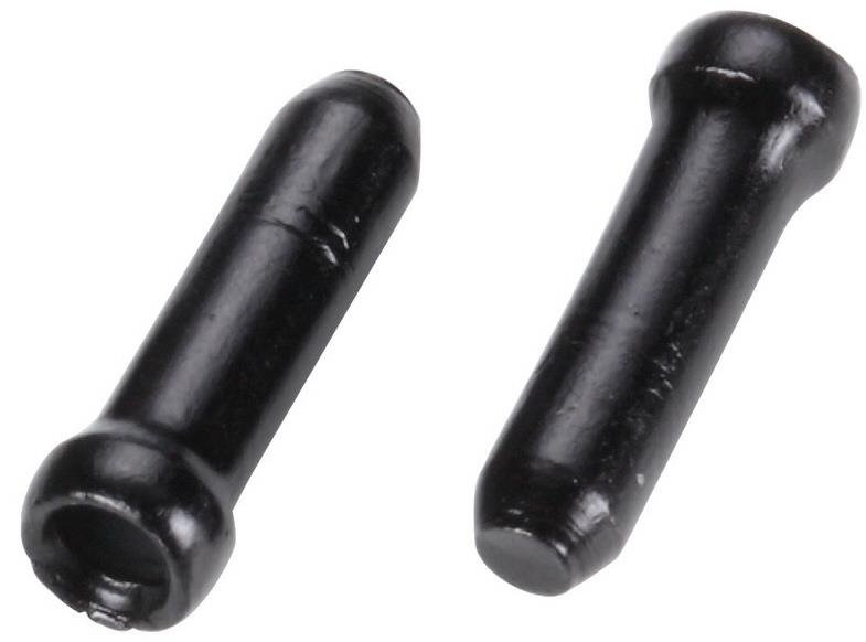 BBB Kabelstoppere/Endenippler til wirekabler, 40 stk. sort
