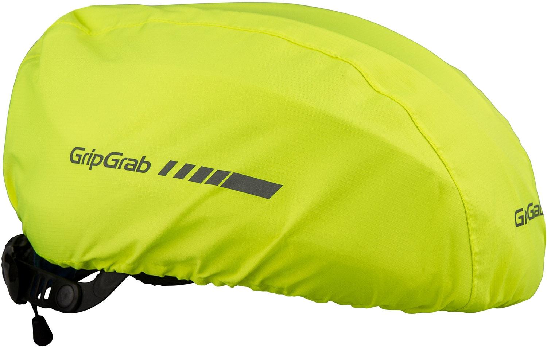 Køb GripGrab Vandtæt Hi-Vis Helmet Cover – Gul