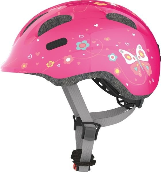 Abus Smiley 2.0 Hjelm, Pink Butterfly