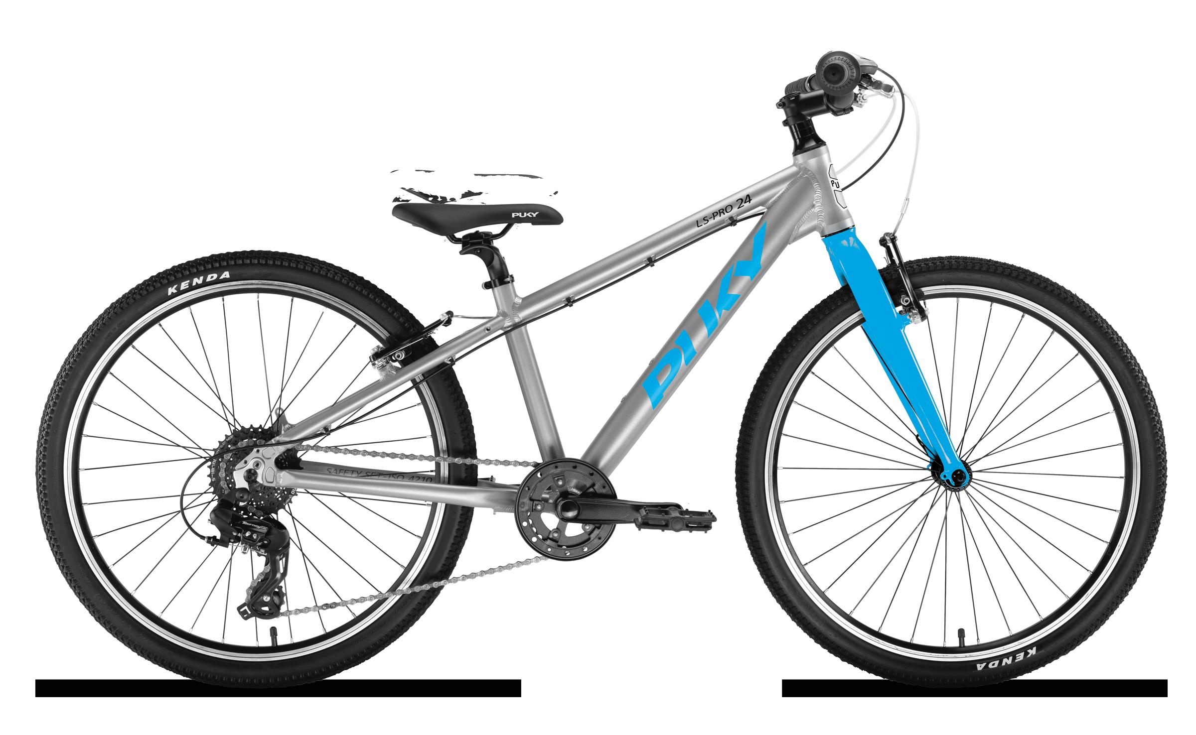 Køb PUKY LS-PRO 24-8 Alu 24″ – Sølv/blå
