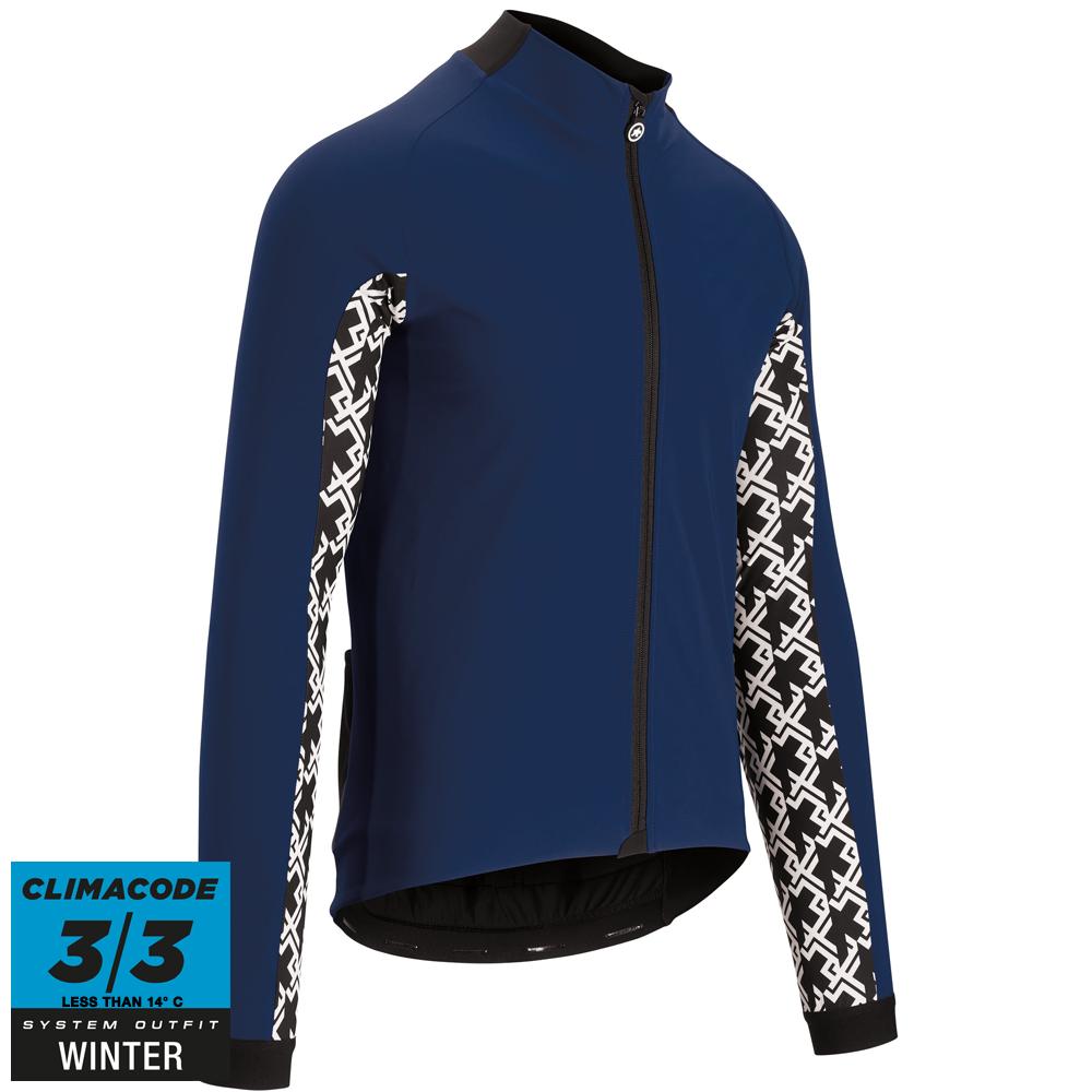 Assos Jakke Mille GT Jacket Ultraz Winter -blå