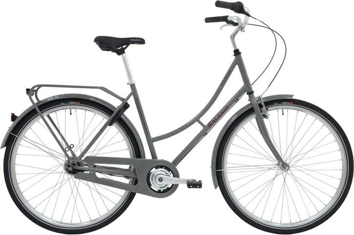 Raleigh Darlington Dame 3g 2020 - Grå  »  Bike Size: 52cm