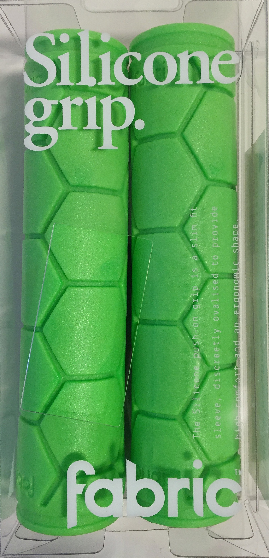 Fabric Silicone Grip, Green