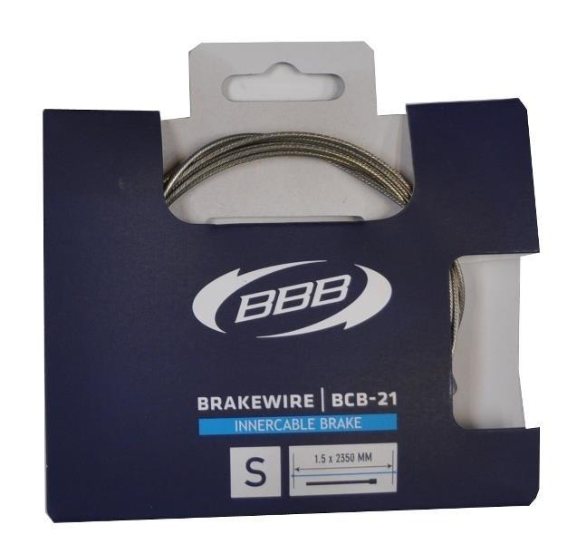 BBB MTB/V-Bremse Bremsewire 235cm med cylinder nippel