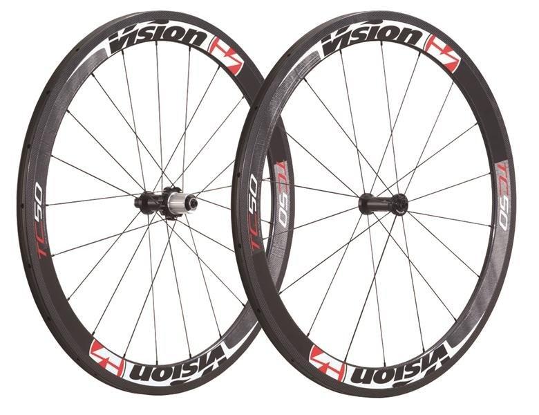 Køb Vision Trimax Carbon TC-50 11S Shimano Hjulsæt