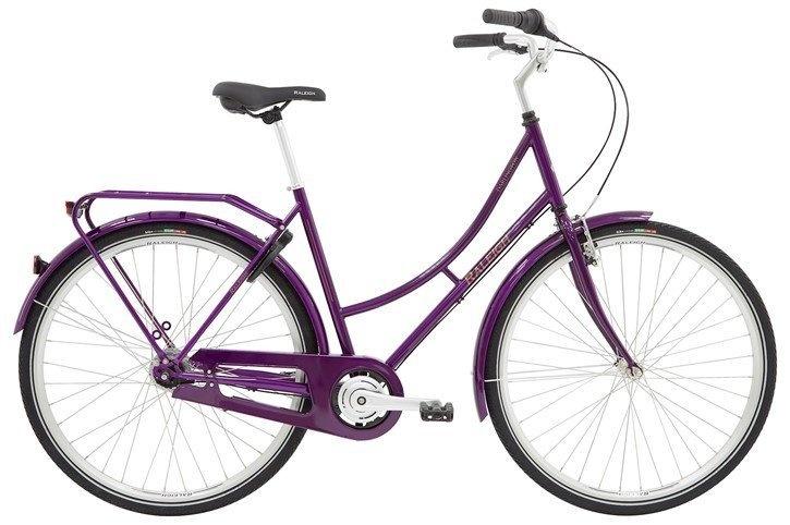 Raleigh Darlington Dame 3g 2021 - Lilla  »  Bike Size: 52cm
