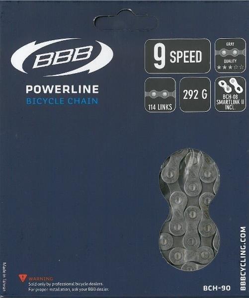 Bbb Kæde Powerline 9 114led Inkl. Smartlink Bch-90