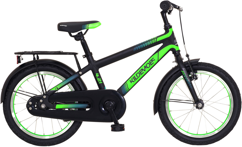 "Kildemoes Bikerz 16"" Dreng 2021 - Sort/Grøn"