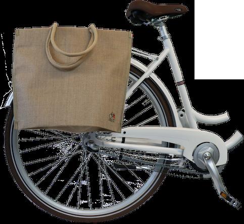 Bikezac taske filt - Natur