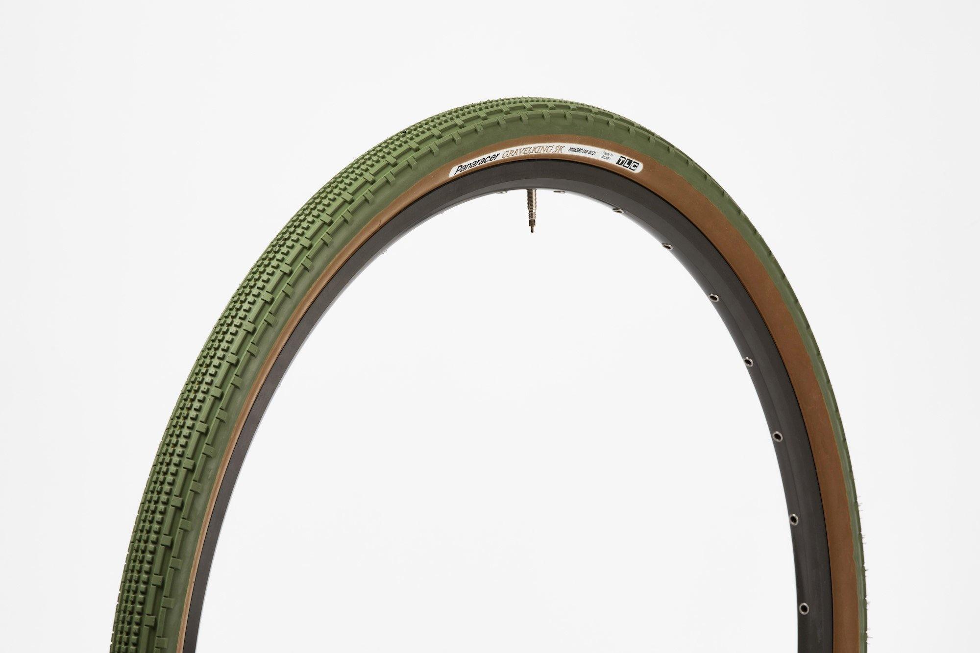 Panaracer 700 x 38 Gravel King SK Military Green dæk