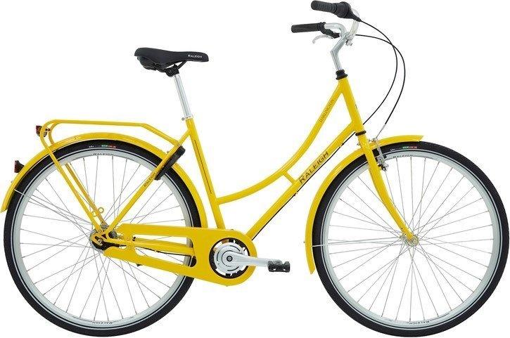 Raleigh Darlington Dame 3g 2020 - Gul  »  Bike Size: 52cm