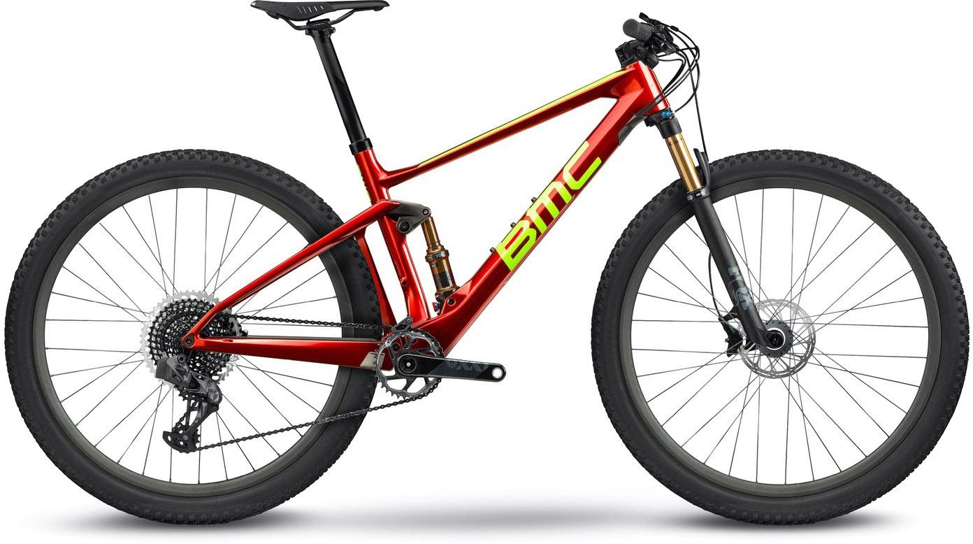 Køb BMC Fourstroke 01 ONE 2022 – Rød