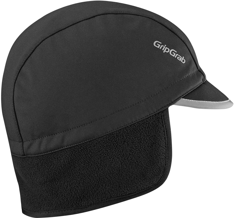 GripGrab Vindtæt Vinter Cycling Cap - Sort
