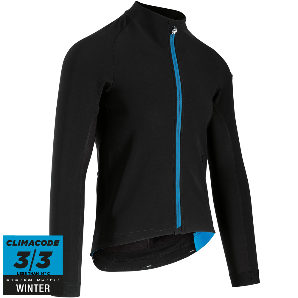 Assos Jakke Mille GT Jacket Winter - Sort/blå