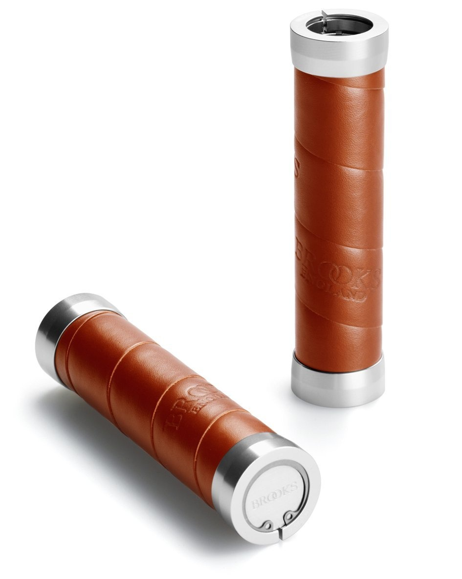 Brooks Slender Leather Håndtag - 130mm