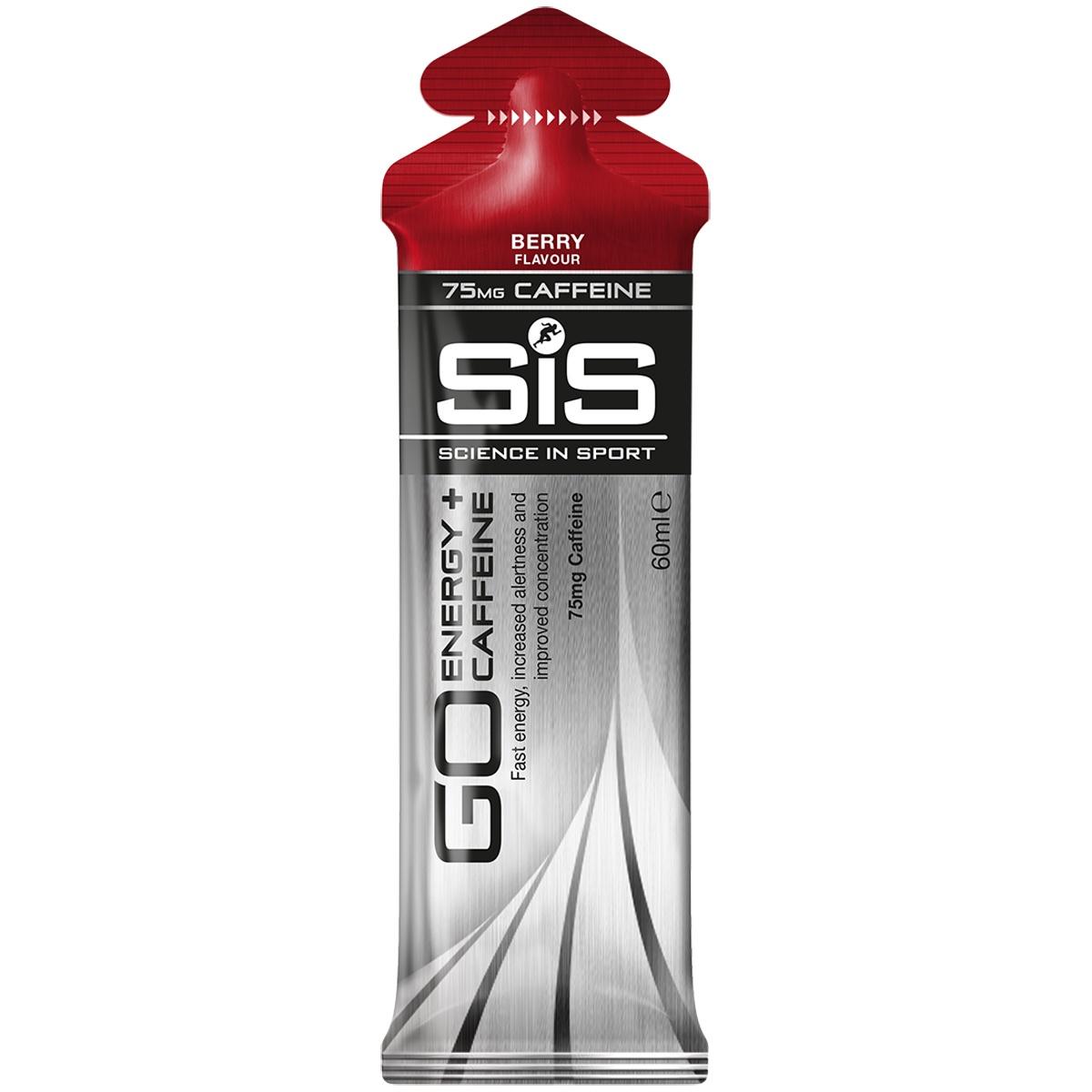 SIS Isotonic Energy Caffeine Gel Berries 60ml