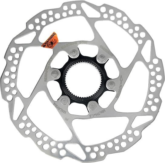 Shimano Rotor 160mm Center Lock - SM-RT54 m/ Lock Ring
