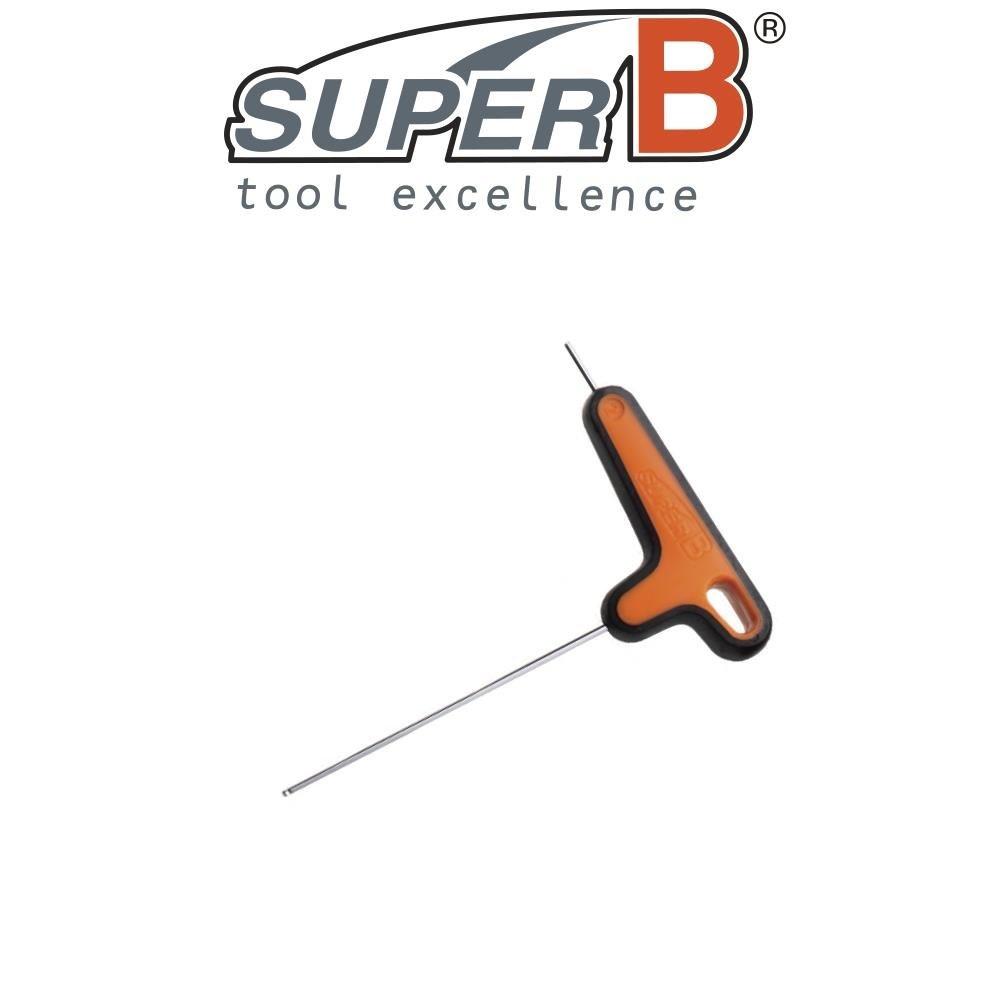 SuperB Biketools Unbraco nøgle - 3mm