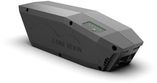 E-Bike Vision Batteri (skrårør) til Bosch Active/Perf/ Lite Active (Plus)/Performance (CX) - 360Wh